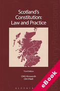 Cover of Scotland's Constitution: Law and Practice (eBook)