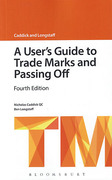 Cover of A User's Guide to Trade Marks and Passing Off