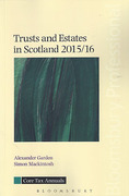 Cover of Trusts and Estates in Scotland 2015/16