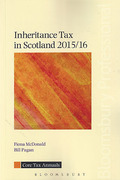 Cover of Inheritance Tax in Scotland 2015/16