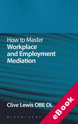 Cover of How to Master Workplace and Employment Mediation (eBook)