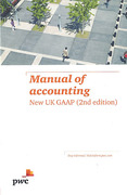 Cover of Manual of Accounting: New UK GAAP