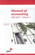 Cover of Manual of Accounting: IFRS 2015