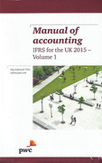 Cover of Manual of Accounting: IFRS for the UK 2015