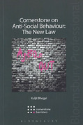 Cover of Cornerstone on Anti-Social Behaviour: The New Law