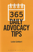 Cover of 365 Daily Advocacy Tips