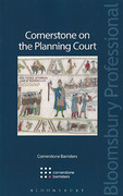 Cover of Cornerstone on the Planning Court
