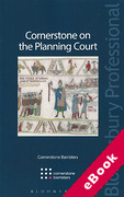 Cover of Cornerstone on the Planning Court (eBook)