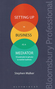 Cover of Setting Up in Business as a Mediator