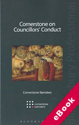 Cover of Cornerstone on Councillors' Conduct (eBook)
