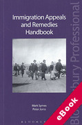 Cover of Immigration Appeals and Remedies Handbook (eBook)