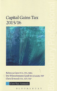Cover of Core Tax Annuals: Capital Gains Tax 2015/16