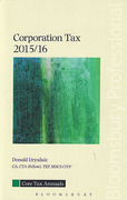 Cover of Core Tax Annuals: Corporation Tax 2015/16