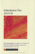 Cover of Core Tax Annuals: Inheritance Tax 2015/16