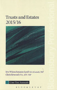 Cover of Core Tax Annuals: Trusts and Estates 2015/16