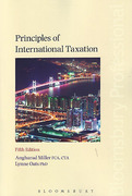 Cover of Principles of International Taxation