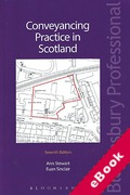 Cover of Conveyancing Practice in Scotland (eBook)