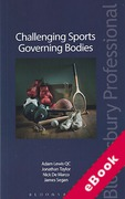 Cover of Challenging Sports Governing Bodies (eBook)