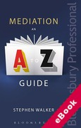 Cover of Mediation: An A-Z Guide (eBook)