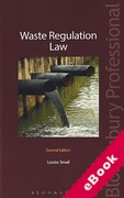 Cover of Waste Regulation Law (eBook)