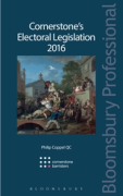 Cover of Cornerstone's Electoral Legislation 2016