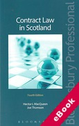 Cover of Contract Law in Scotland (eBook)
