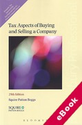Cover of Tax Aspects of Buying and Selling a Company (eBook)