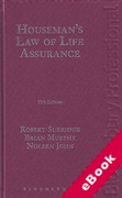 Cover of Houseman's Law of Life Assurance (eBook)