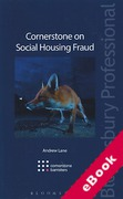 Cover of Cornerstone on Social Housing Fraud (eBook)