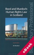Cover of Reed and Murdoch: Human Rights Law in Scotland (eBook)