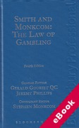 Cover of Smith and Monkcom: The Law of Gambling (eBook)