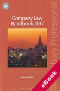 Cover of Company Law Handbook 2017 (eBook)