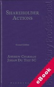 Cover of Shareholder Actions (eBook)