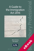 Cover of A Guide to The Immigration Act 2016 (eBook)