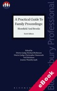 Cover of A Practical Guide to Family Proceedings (eBook)