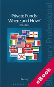 Cover of Private Funds: Where and How? (eBook)