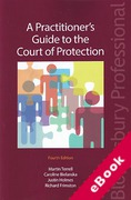 Cover of Practitioner's Guide to the Court of Protection (eBook)