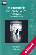 Cover of Transparency in the Family Courts: Publicity and Privacy in Practice (eBook)