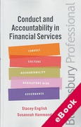 Cover of Conduct and Accountability in Financial Services: A Practical Guide (eBook)