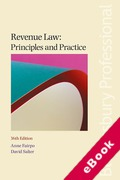 Cover of Revenue Law: Principles and Practice (eBook)