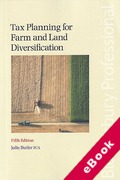 Cover of Tax Planning for Farm and Land Diversification (eBook)