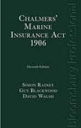 Cover of Chalmers' Marine Insurance Act 1906