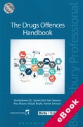 Cover of The Drugs Offences Handbook (eBook)