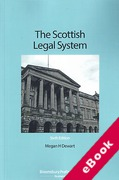 Cover of The Scottish Legal System (eBook)