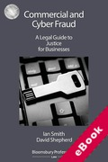 Cover of Commercial and Cyber Fraud: A Legal Guide to Justice for Businesses (eBook)