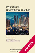 Cover of Principles of International Taxation (eBook)