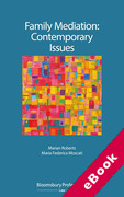 Cover of Family Mediation: Contemporary Issues (eBook)