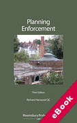 Cover of Planning Enforcement (eBook)