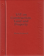 Cover of VAT on Construction, Land and Property Looseleaf