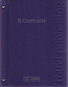 Cover of E-Contracts Looseleaf
